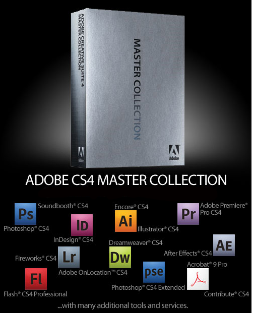 adobe cs4 master collection