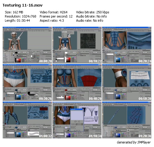 Cinema 4d Character Design Tutorials : Cinema d character modelling tutorial lino masciulli